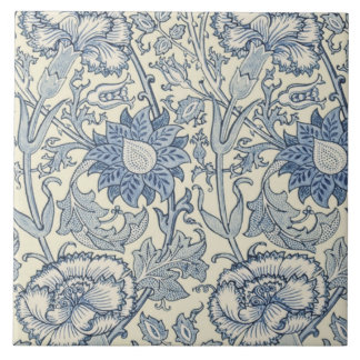 Pink and Rose by William Morris 1890 Tile
