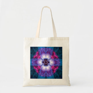 Pink and Turquoise Kaleido-Tote Tote Bag