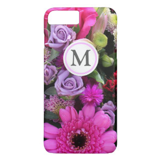 Pink and Violet Bouquet iPhone 7 Plus Case