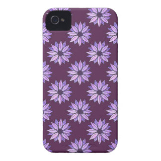 Pink and Violet Daisies iPhone 4 Cases
