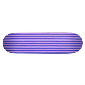 Pink and Violet Striped Skatedeck Skate Deck