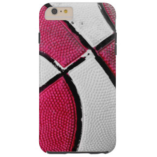 Pink and White Basketball iphone6 case