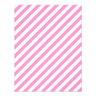 Pink and White Candy Stripes. Custom Invites