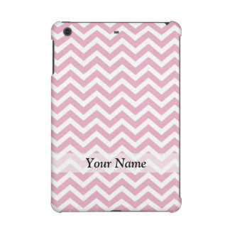 Pink and white chevron iPad mini retina cover