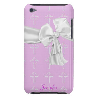 Pink and White Christian iPod Touch Case