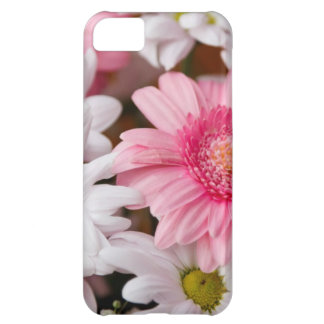 Pink and White Daisies iPhone 5C Case