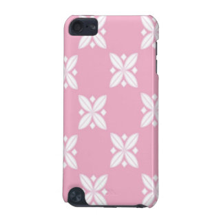 Pink and White Floral Design iPod Touch 5G Covers