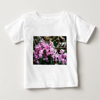 Pink and White Hyacinth Flowers Tee Shirt