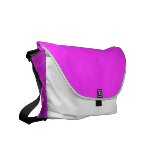 Pink and White Commuter Bag