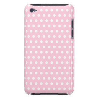 Pink and White Polka Dots Pattern. Case-Mate iPod Touch Case
