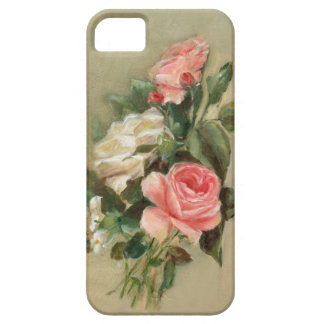 Pink and white Rose Bouquet iPhone 5 Cover