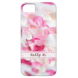 Pink and White Rose Petals iPhone 5 Covers