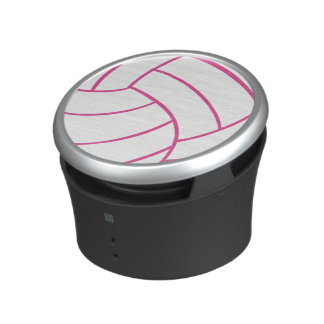 Pink and white Volleyball Speaker