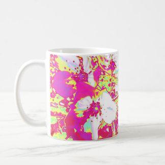 Pink and Yellow Blossom Mug