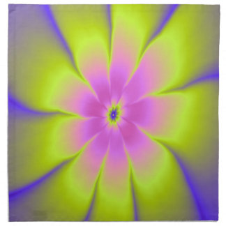 Pink and Yellow Daisy Napkins