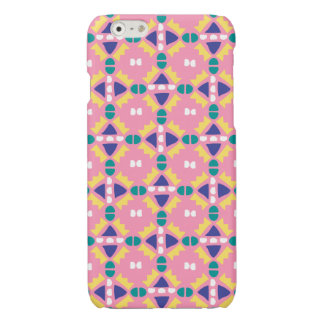 Pink and Yellow - Geometric - iPhone Case - 6/6s iPhone 6 Plus Case
