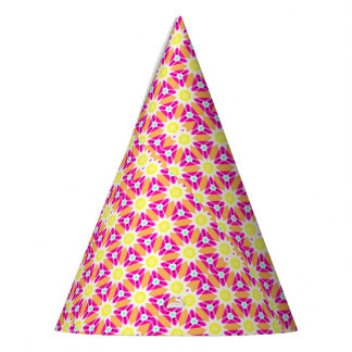 Pink and Yellow Sunshine Party Hat