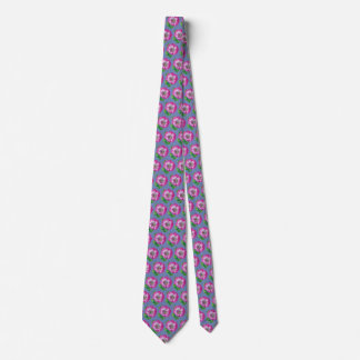Pink Anemone Tie