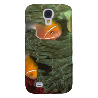 Pink Anemonefish in Magnificant Sea Anemone Galaxy S4 Case