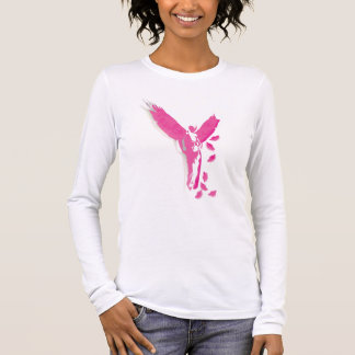 Pink Angel Long Sleeve T-Shirt