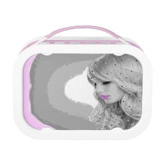 Pink Angel Lunch Box