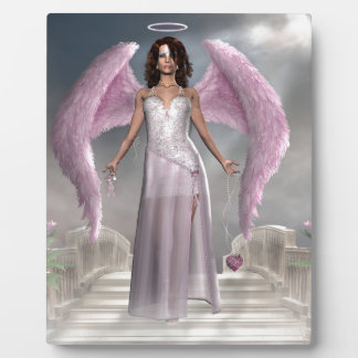 Pink Angel of Hope Products Plaque