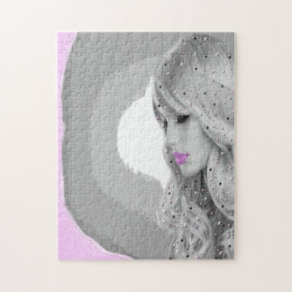 Pink Angel Puzzle