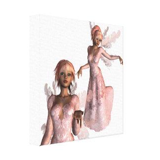 Pink Angels Canvas Print