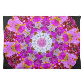 Pink angels placemat
