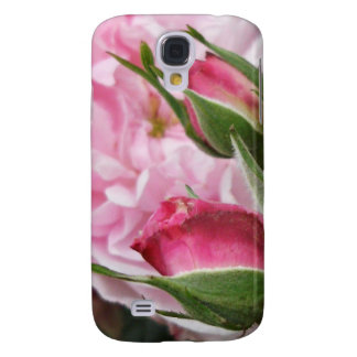 Pink Antique Roses Galaxy S4 Case