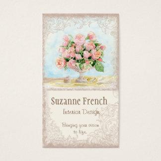 Pink Antique Vintage Elegant Lavish French Roses