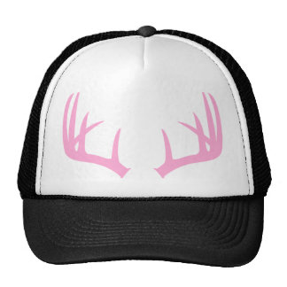 Pink Antlers Trucker Hat