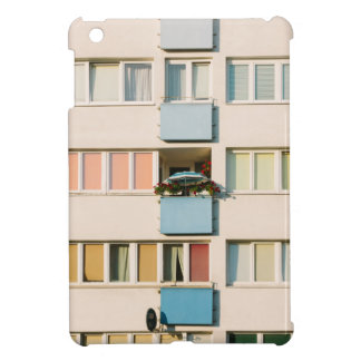 Pink Apartment Building, Uran Architecture iPad Mini Cover