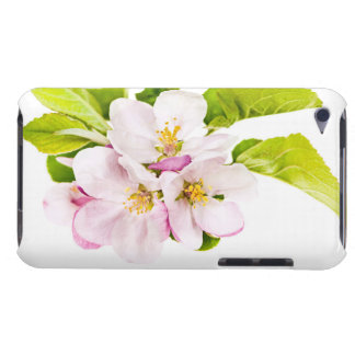 Pink apple blossoms iPod touch case
