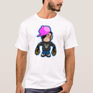 Pink apple Boy in monkey costume (robotic version) T-Shirt