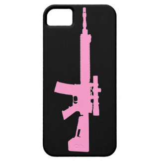 Pink AR-15 iPhone 5 Universal Case