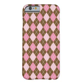 Pink Argyle iPhone 6/6s Case