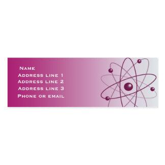 Pink Atom Business Card