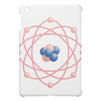 Pink Atomic Particles iPad Mini Covers