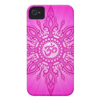 Pink Aum Star iPhone 4 Case-Mate Case