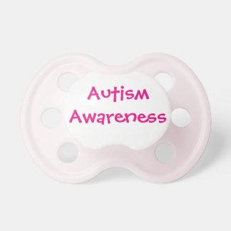 Pink Autism Awareness Pacifier 6+mths