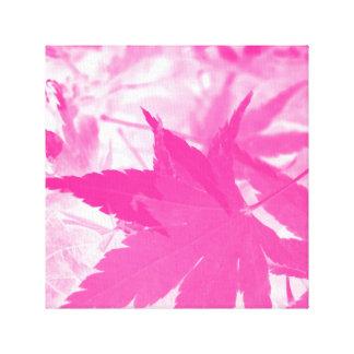 Pink Autumn. Canvas Print