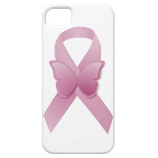 Pink Awareness Ribbon iPhone 5 Cases