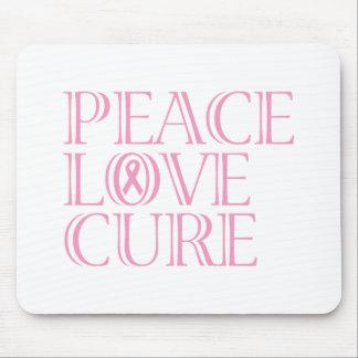 Pink Awareness Ribbon Mouse Pad