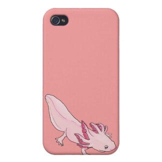 Pink Axolotl Salamander iphone case 4G iPhone 4 Cover