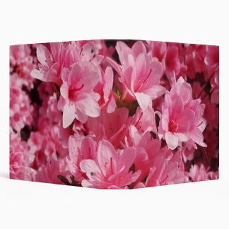 Pink Azalea Flower Binder