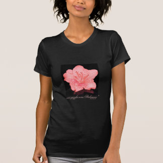 Pink Azalea Flower T Shirts