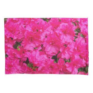 Pink Azalea Flowers Floral Pillowcase