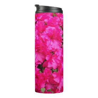 Pink Azalea Flowers Floral Thermal Tumbler