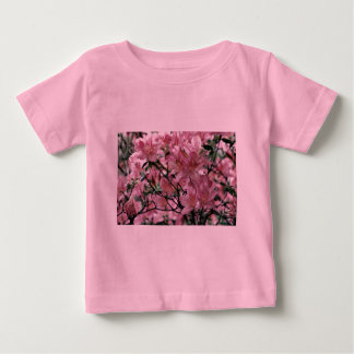 Pink Azalea flowers Infant T-Shirt